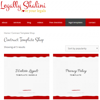 Legally-Shalini-templates-page